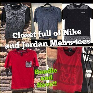 Other - Closet is Full of Nike and Jordan Men's Tees